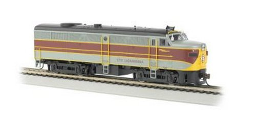 Train Engine Sounds (Bachmann Erie and Lackawanna HO Scale Alcofa2 Diesel Locomotive - DCC Sound Value On Board)
