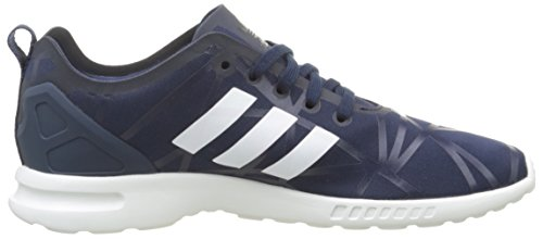 Smooth Adidas night Low core White Flux Scarpe Indigo night Donna Adv Bleu top Zx Indigo q4At1