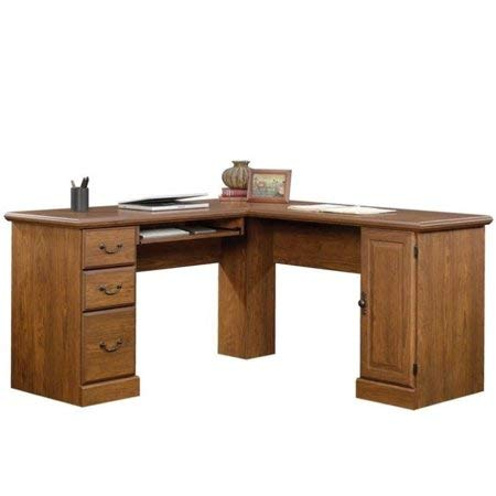 Sauder Orchard Hills Corner Computer Desk, Milled Cherry Finish