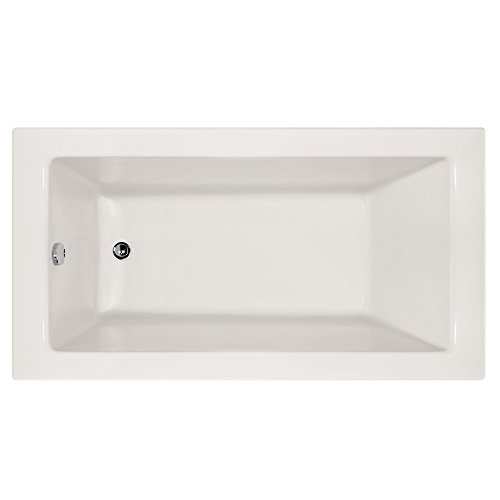 Hydro Systems SYD6632ATA-WHI-LH-WOV.PC Sydney Acrylic Tub with Thermal Air System (Left Hand Drain Included), White/Polished Chrome