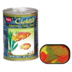 Ocean Star International Cichlid Flakes 7.06oz (Osi Spirulina)