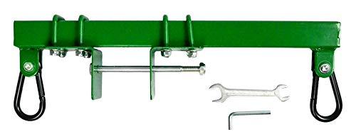 Swurfer Swingset Conversion Bracket - Heavy Duty Horse Glider Bracket for Swing Set Attachment (Brown) (Green)