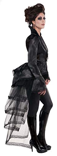 Tulle Bustle Skirt (amscan Goth Tie-On Black)