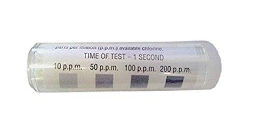 100 Precision Chlorine Test Paper FMP (X3) by Unknown (Litmus Chlorine Paper)