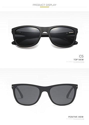 400 UV Mujer C3 C1 De Hombre Gafas Polarizadas para Protección Aviator para Sol ATUfqz4