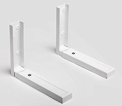 SECATOT Soporte para microondas universal, Blanco