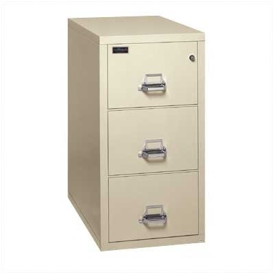 - Fireproof 3-Drawer Verical Legal File Finish: Taupe, Lock: Manipulation-Proof Comb. Lock