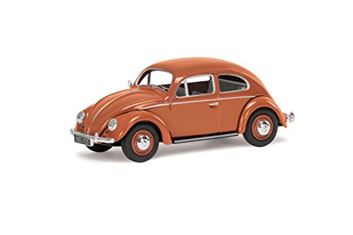 (Corgi VA01207 Volkswagen VW Beetle Coral Oval Rear Window Saloon Model)