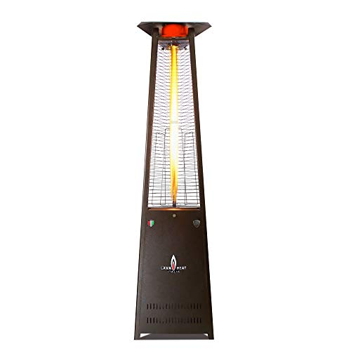 Lava Heat Italia - AMAZON-132 - Patio Heater - Heritage Bronze Finish - Natural Gas (Heritage Bronze Finish)