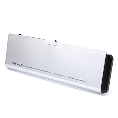 "Replacement Apple A1281 A1286 Laptop Battery for 2008 MacBook Pro 15"" MB772 MB772J/A MB772LL/A - 12 Months Warranty from Skyvast"