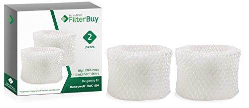 2 - Honeywell HAC-504 Humidifier Filters. Designed by FilterBuy to fit Honeywell HCM-600, HCM-710, HCM-300T & HCM-315T. Compare to Part # HAC-504AW.