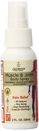 Jadience Joint & Muscle Pain Relief Body Spray for Aches & Pains Management - 2 Oz - ADAPTOGENIC Chinese Herbal Medicine