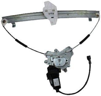 Regulator Hyundai Window Power Elantra (TYC 660152 Hyundai Elantra Front Driver Side Replacement Power Window Regulator Assembly with Motor)