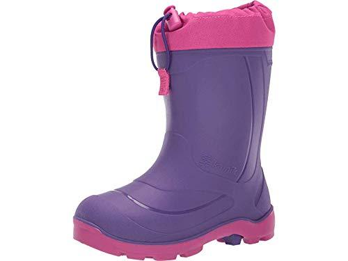 Kamik Girl's Snobuster1 Boot, Royal Purple/Magenta, 13 M US Little Kid