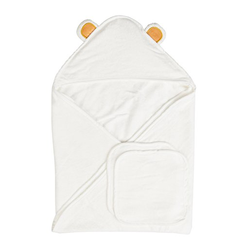 Baby Bamboo Hooded Towel, Bath-Hooded Towels for Infant & Toddler Boys & Girls (Extra Soft)
