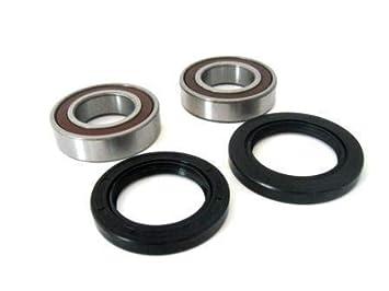 Amazon.com: BossBearing Front Wheel Bearings Seals Kit for ...