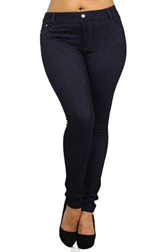 Vanilla ink - Jeans - Femme bleu jean
