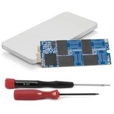 OWC 1.0TB Aura 6G SSD and Envoy Pro Upgrade Kit for 2012-2013 MacBook Pro with Retina display. by OWC