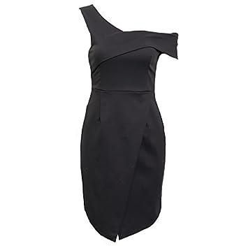 GAOLIM Parte De La Cena Vestido Vestido Bustier Hombro Bolsa De División Asimétrica Falda Vestidos De