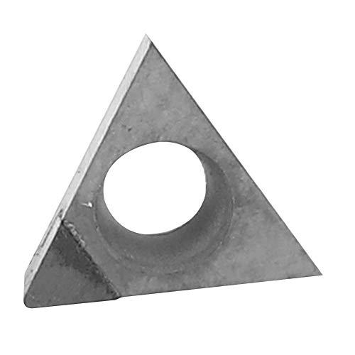 Diamanteinsatz, 600-1100 MPa TBGT060102 TBGT060104 PCD Diamanteinsatz Schneidklinge CNC-Drehwerkzeug zur Verarbeitung von Aluminiumlegierung Kupferlegierung Glasfaser(102)