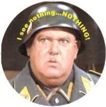 Sgt Schultz Know Nothing Magnet