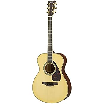 Yamaha L-Series LS6 Concert Size Acoustic-Electric Guitar - Mahogany, Natural