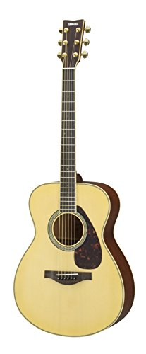 Yamaha L-Series LS6 Concert Size Acoustic-Electric Guitar – Mahogany, Natural
