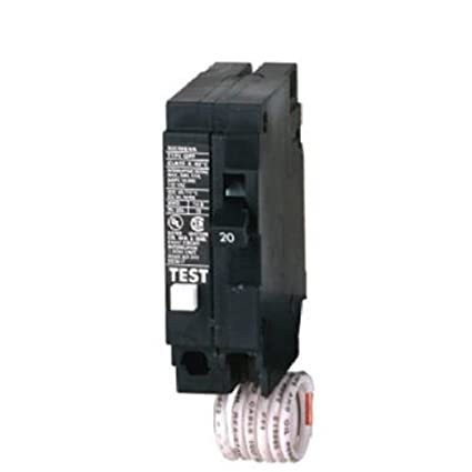 Sie QF120 20-Amp 1 Pole 120-Volt Ground Fault Circuit ... on ground fault relay wiring diagram, ground fault indicator wiring diagram, ground fault interrupter circuit breaker, arc fault wiring diagram, ground fault interrupter cable, ground fault breaker wiring diagram,
