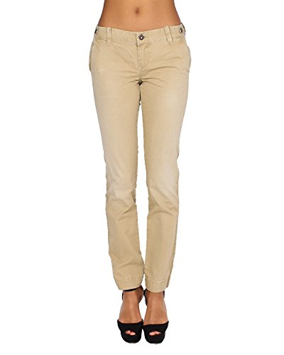 PEPE-JEANS-Womens-Pants-ELVA-852-Regular-Tapered-Non-Stretch