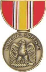 National Defense Medal Lapel Pin or Hat Pin