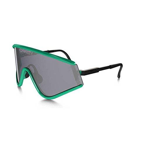 Oakley Unisex Heritage Eyeshade Sunglasses, Seafoam/Grey, One - Heritage Oakley Collection