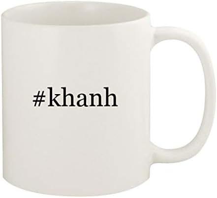 #khanh - 11oz Hashtag Ceramic White Coffee Mug Cup, White
