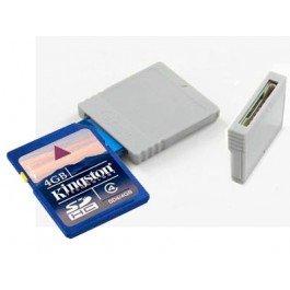 Alechip - Cartucho con adaptador sd/minisd para gamecube/wii ...