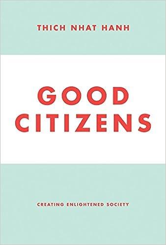 Good citizens creating enlightened society thich nhat hanh good citizens creating enlightened society thich nhat hanh 9781935209898 amazon books fandeluxe Images
