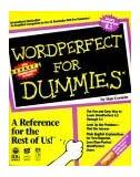 Wordperfect for Dummies by Dan Gookin (1992-09-22)