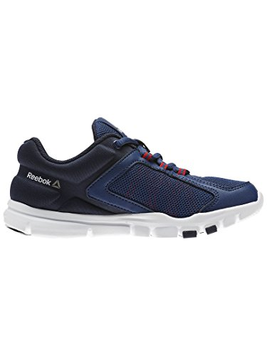 Reebok Yourflex Train 9.0 – Chaussures, mixte adulte, Bleu – (washed blue/night Navy/Primal Red/pewter)
