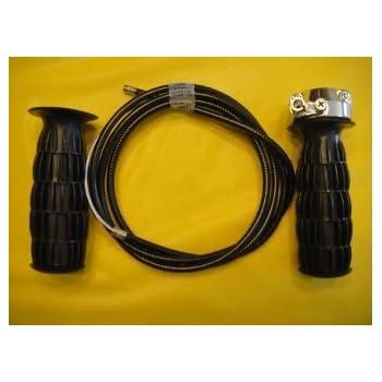 Amazon.com: w.a.o. Mini Bike Twist Grip throttle-with Cable ...