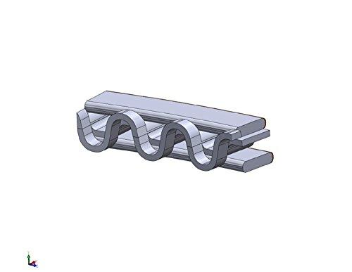 .060 5//64 5//64 3//16 4.060 BORE SB Ford 351w HASTINGS Moly Piston Rings