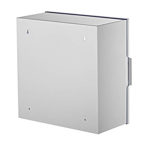 AdirMed Non-Alarmed Steel Cabinet Defibrillators 15'' W x 15'' H x 7'' - Standard Wall Mounted Enclosure - Easy Access Storage for Emergency Situation for Home & Office by AdirMed (Image #1)