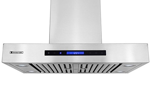 XtremeAir Pro-X Series PX06-W42, 42'' Wide, Easy Clean swing-able baffle Filters, Stainless Steel, Wall Mount Range Hood by XtremeAIR (Image #2)