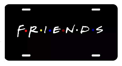 D Sticky Company Friends Tv Show License Plate 12