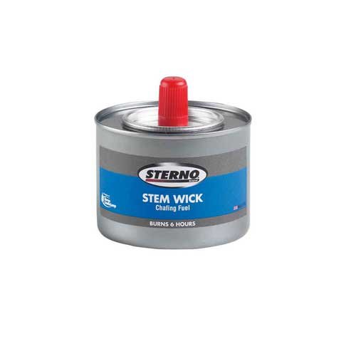 Sterno Stem Wick 6 Hour Chafing Dish Fuel -- 24 per case.