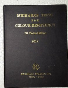 Mars International Ishihara Color Blindness Test Book Available In 14 Plates Ehs Lhs O from Mars