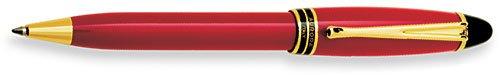 Aurora Ipsilon Resin Red Ballpoint Pen - - Pen Ballpoint Aurora
