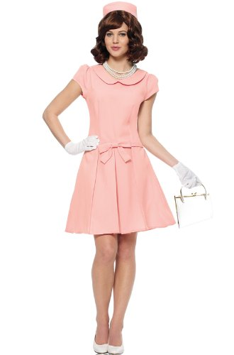 Costume Culture Women's First Lady Costume, Pink, Medium]()