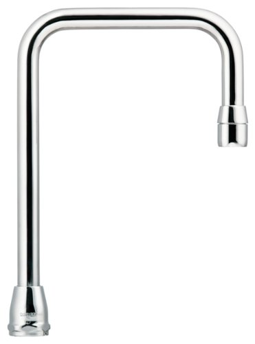 Moen S0006 Commercial M-Dura 8-Inch Reach Double Bend Spout .75-Inch to Aerator, Chrome by Moen