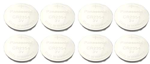 [ Pack of 8 ] Panasonic CR2354 2354 CR 2354 3V lithium BATTERIES