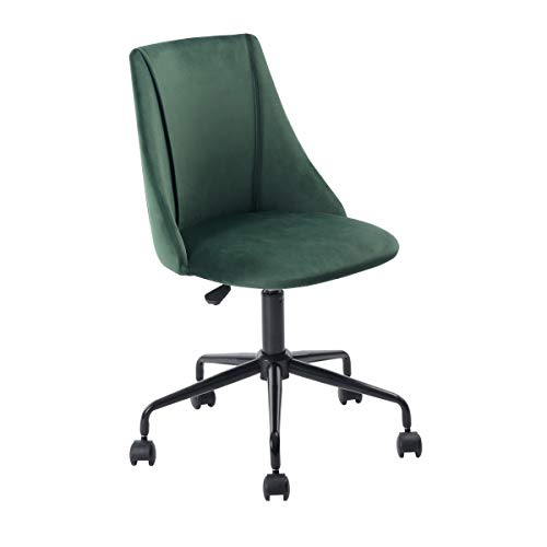 Homy Casa Home Office Chair Desk Chair Computer Chair Student Study Chair Swivel Hieght Adjustment (Green)