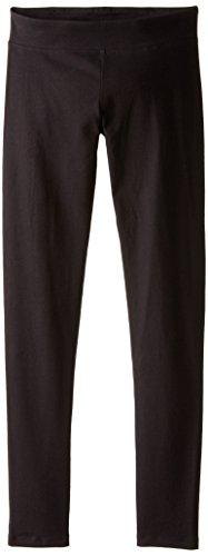 Silk Legging Reflections - Hanes Women's Silk Reflections Cotton Legging Tights, Black Small