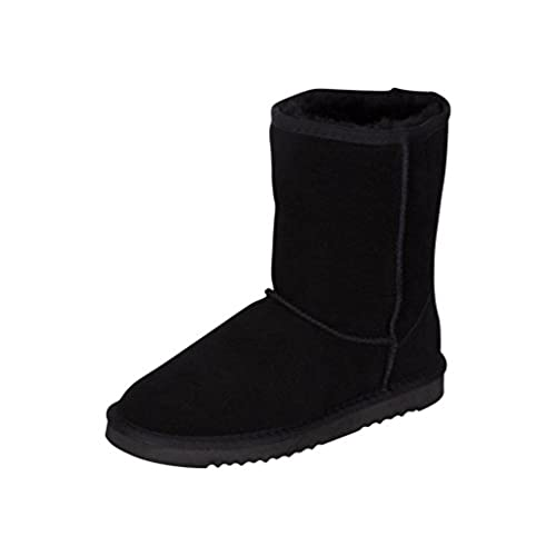 97d9127f160a9 durable modeling Kemi Women's Bella Classic Short Winter Boots – Suede  Ladies Winter Snow Boots